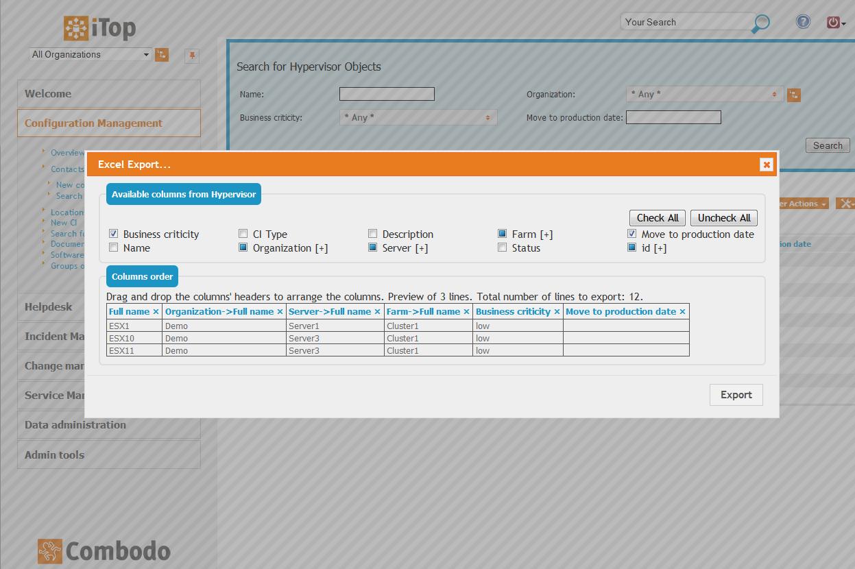 iTop: open source ITIL ITSM CMDB Software